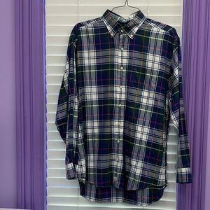 Vineyard Vines L Men's plaid button down shirt